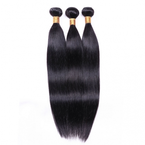 Cheap Brazilian Hair Weave 3 Bundles Straight Evova Human Hair Weaving For Sale