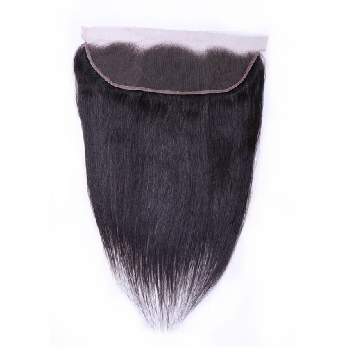 Straight Human Hair 13x4 Lace Frontal Good Quality Evova Hair
