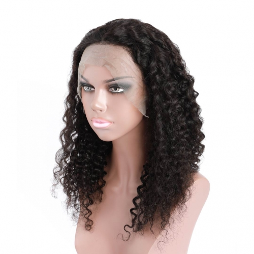 360 Lace Front Wigs Curly Human Hair African American Wigs Good HAIRCC Hair